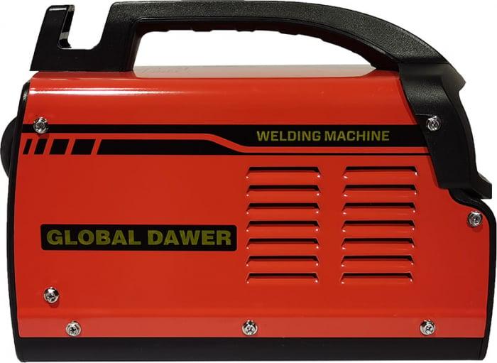 Aparat de Sudura tip Invertor, Global Dawer, MMA 200, electrozi 1.6 mm - 4 mm, 200 A 1