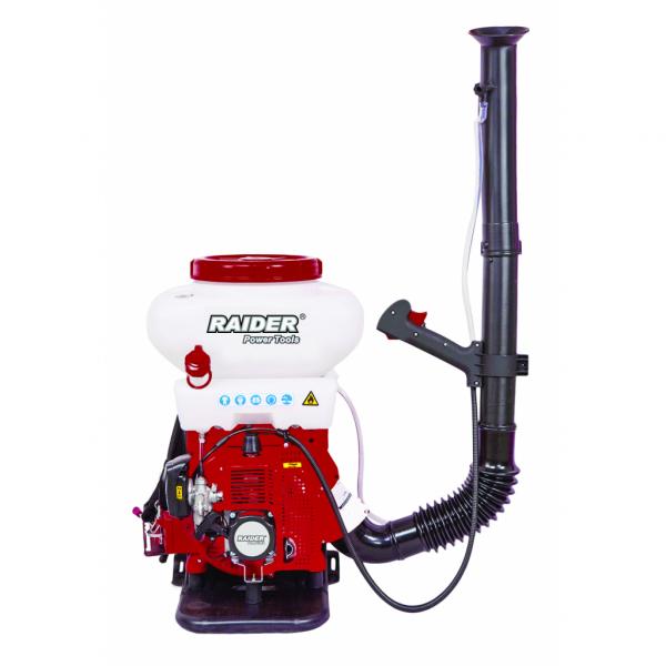 Atomizor cu motor pe benzina RAIDER 3 cp, 14L 12/10m,cu pompa booster RD-KMD02 0