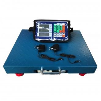Cantar electronic 600kg Wi-Fi, fara fir, tabla groasa, Wireless 1