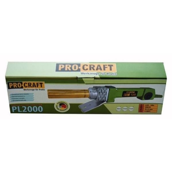 Pistol PPR Procraft PL2000, 2000 W, 300 grade C 4