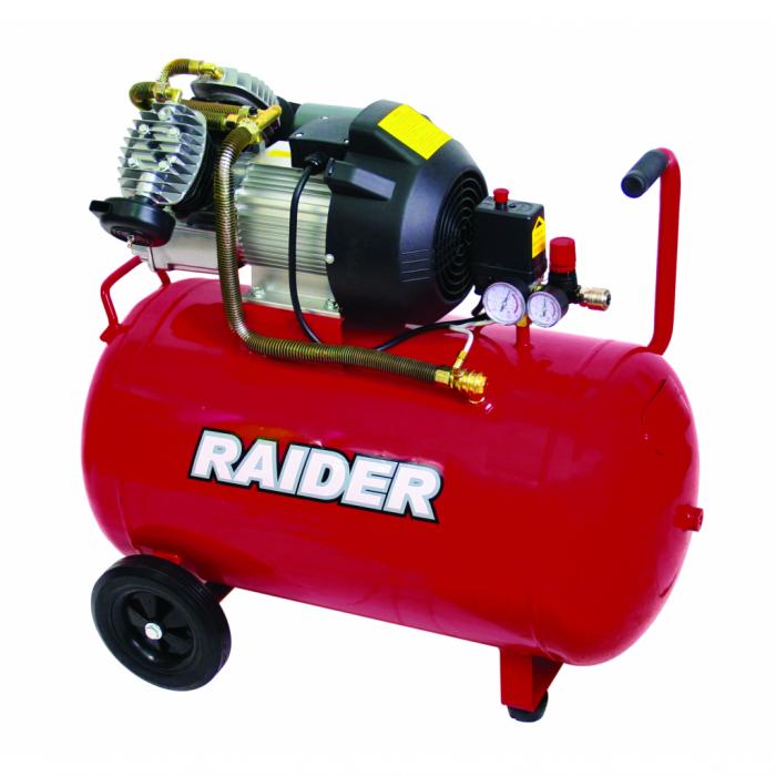 Compresor aer 3НР / 100l Raider RD-AC03, 8 bar, 2200w [0]