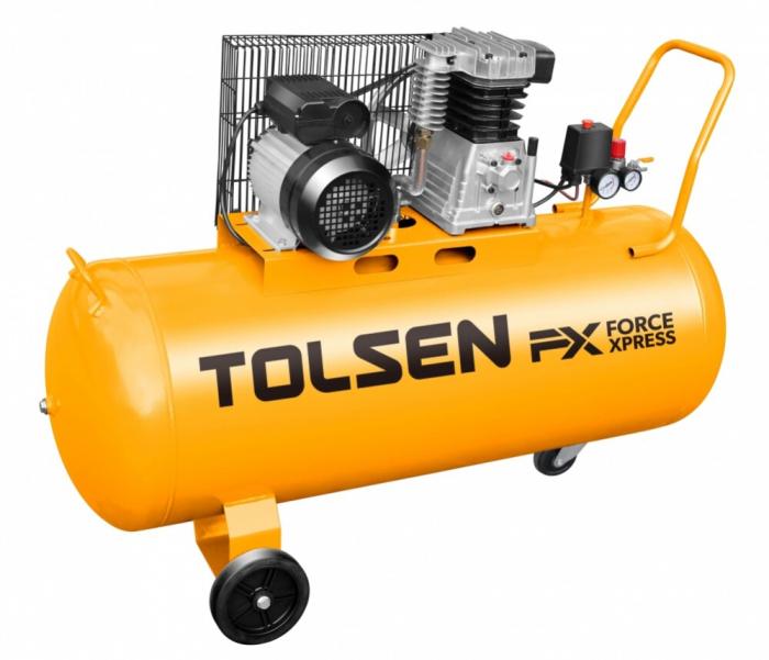 Compresor aer 100L, 2200W, 3 Cp, Tolsen 73127 [0]