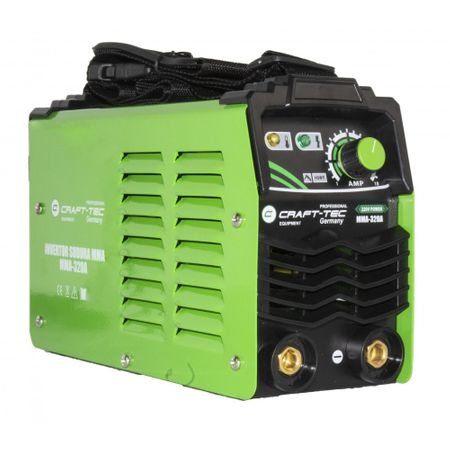 Aparat Sudura Invertor CRAFT-TEC MMA 320A, 320Ah, diametru electrod 1.6 - 4 mm+1 kg Electrozi universali [1]