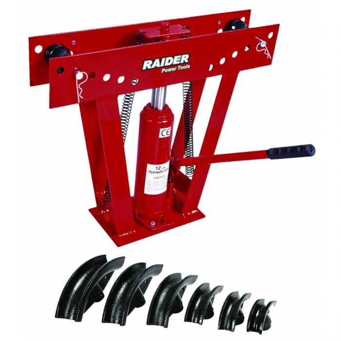 "Dispozitiv hidraulic pentru indoire teava 12T 1/2""-2"" RAIDER RD-HPB01 [0]"