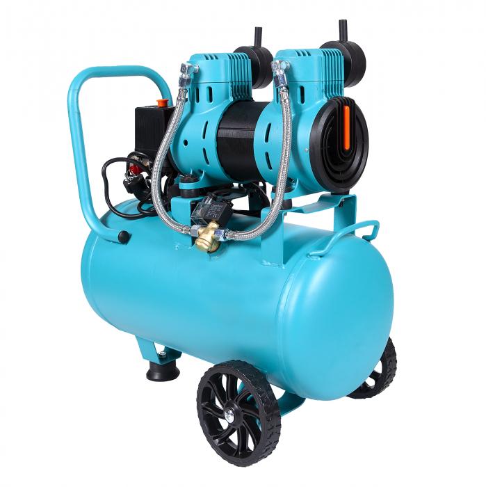 Compresor fara ulei 1500W, capacitate 30L, 135L/min , Detoolz DZ-C266 [1]