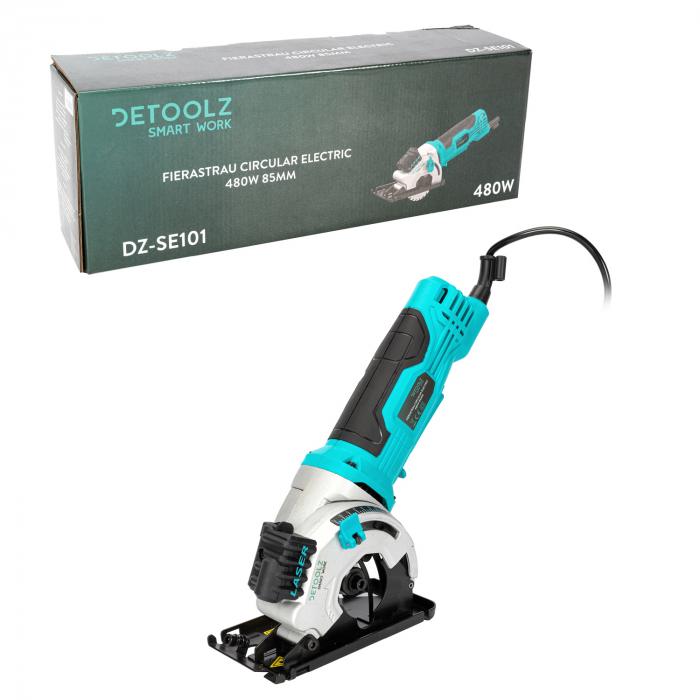 Fierastrau circular electric 480W 85mm Detoolz DZ-SE101 [5]
