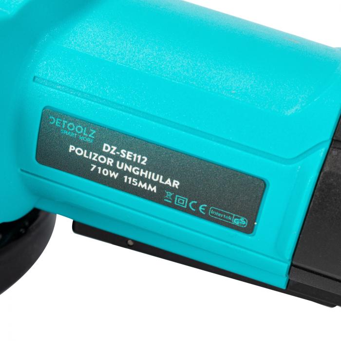 Polizor unghiular 710W 115mm Detoolz DZ-SE112 [7]