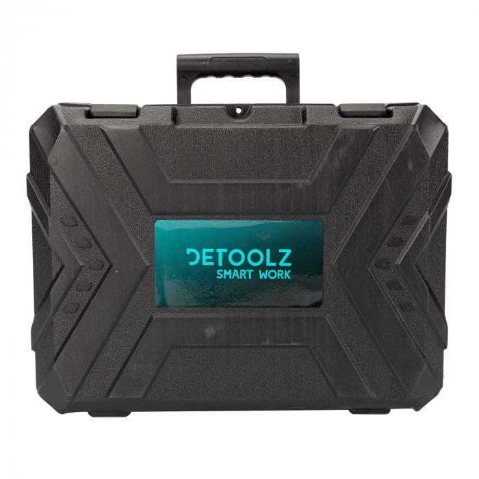 Ciocan rotopercutor 1500W, valiza transport + accesorii, Detoolz DZ-SE118 [6]