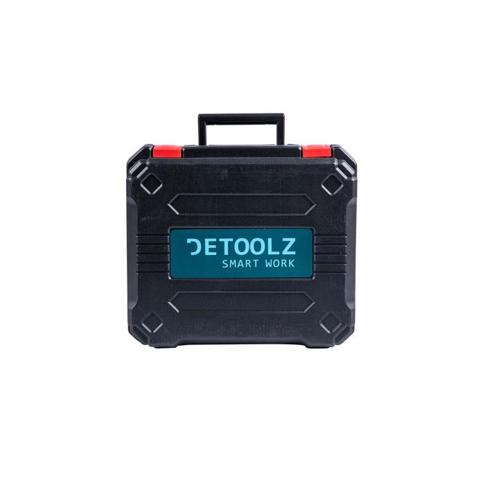Masina de gaurit / insurubat percutie 2 acumulatori Li-Ion 18V Detoolz DZ-SE127 [3]