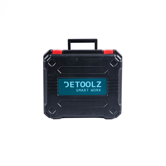 Masina de gaurit / insurubat 2 acumulatori Li-Ion 18V Detoolz DZ-SE128 [3]