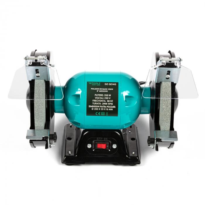 """Polizor de banc 350W 8"""" MD3220S Detoolz DZ-SE140 [2]"""