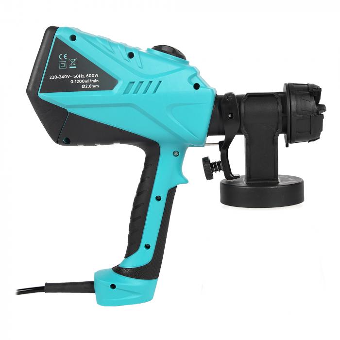 Pistol electric de vopsit 600W 1200ml/min, Detoolz DZ-SE144 [7]