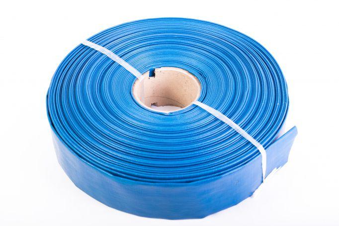 """Furtun apa refulare Flat PVC 1"""" 100M 0"""
