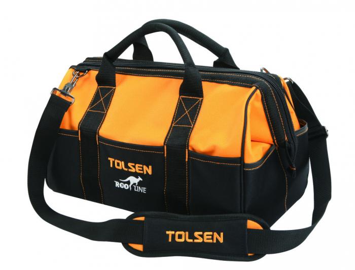 Geanta pentru unelte ROO Line Tolsen 80101, curea reglabila inclusa [0]
