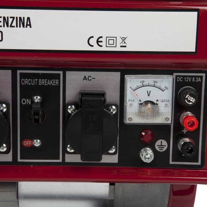 Generator benzina 2200W Micul Fermier MF-2500 [1]