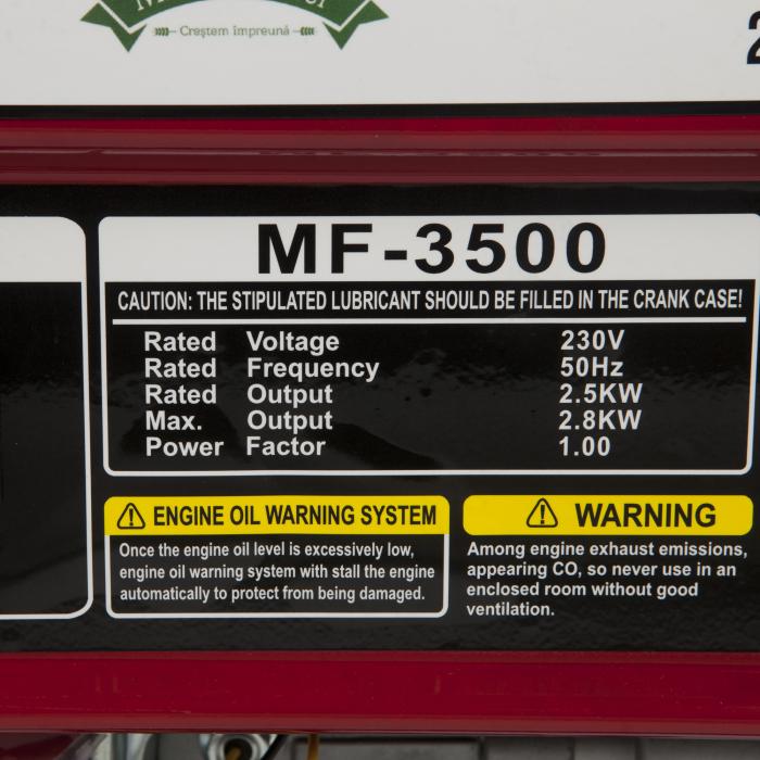 Generator curent electric Micul Fermier 2800 W, MF-3500 [2]