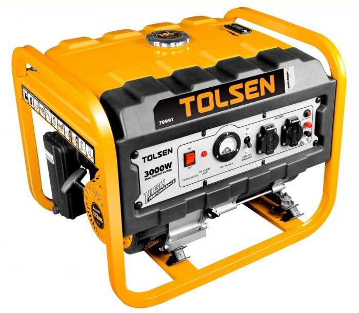 Generator curent electric,benzina, 3000W, Tolsen 79991 [0]