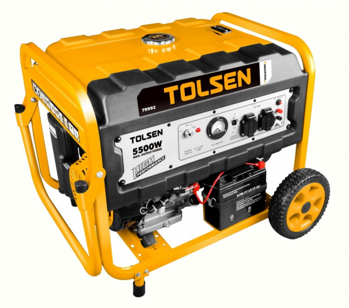 Generator curent electric,benzina, 5500W, Tolsen 79992 [0]