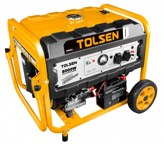 Generator curent electric,benzina, 8000W, Tolsen 79993 [0]