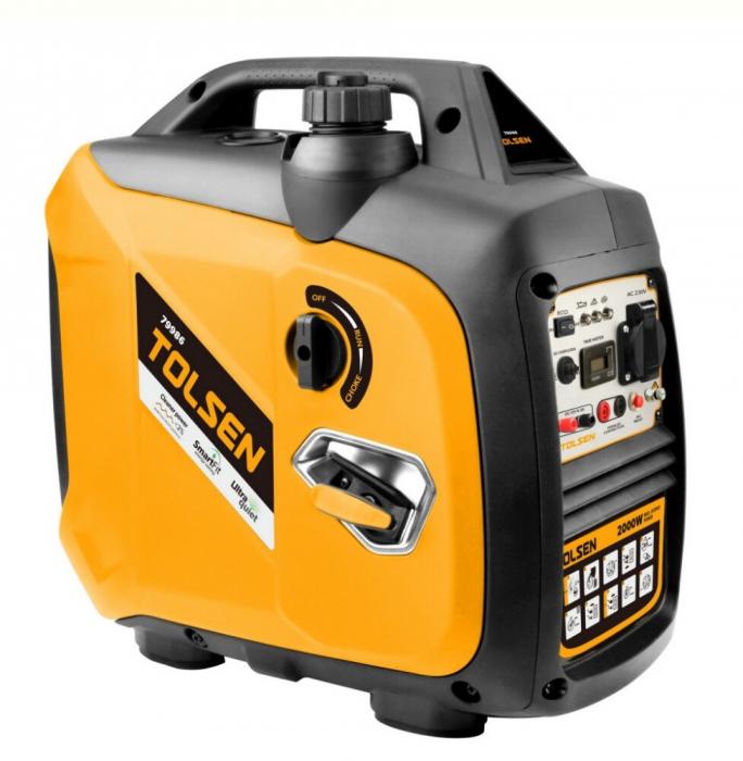 Generator curent electric tip invertor, digital, 2000W, Tolsen 79986 [0]