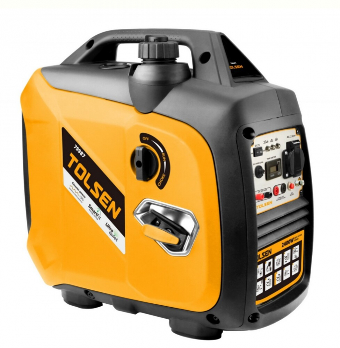 Generator curent electric tip invertor, digital, 2200W, Tolsen 79987 [0]