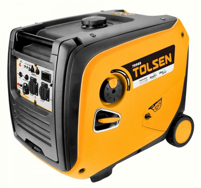 Generator curent electric tip invertor, digital, 3800W, Tolsen 79988 [0]