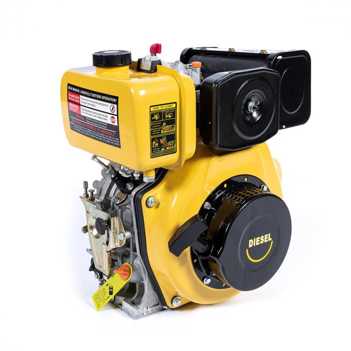 Motor DIESEL ( motorina ) Micul Fermier GF-0356, 10 CP, 4 timpi, 186FA, 418 Cc, 7.7 KW, 1300 Rpm [1]