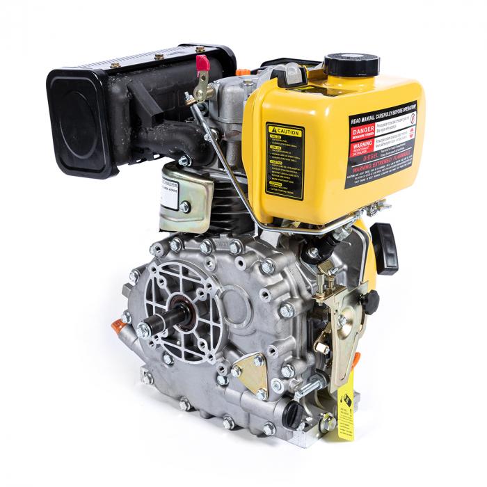 Motor DIESEL ( motorina ) Micul Fermier GF-0357, 5 CP, 4 timpi, 170F, 211 Cc, 3.36 KW, 3000 Rpm [2]