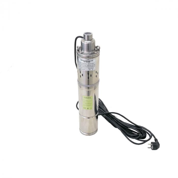 Pompa apa submersibila 60m inox 4SK-100 cu snec 1.8mc Micul Fermier GF-1709 [0]