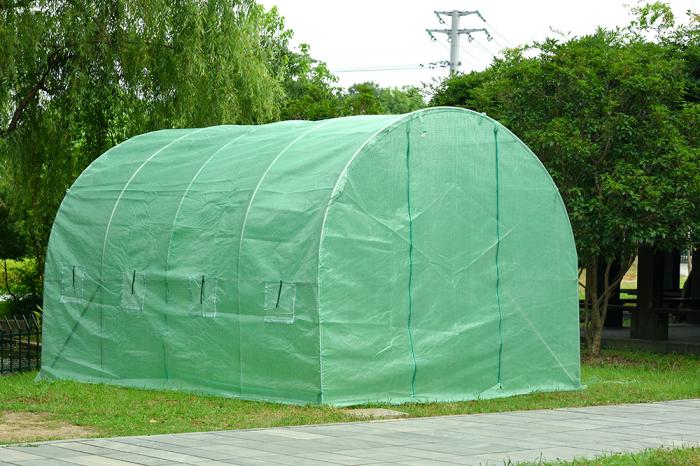 Sera polietilena pentru casa si gradina 400x200x200 cm 140g/mp UV4 , GF-2044 [0]
