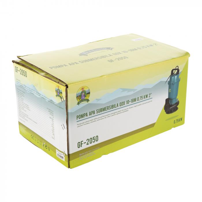 "Pompa apa submersibila, Micul Fermier GF-2050, QDX10-18M 0.75KW 2"" [5]"