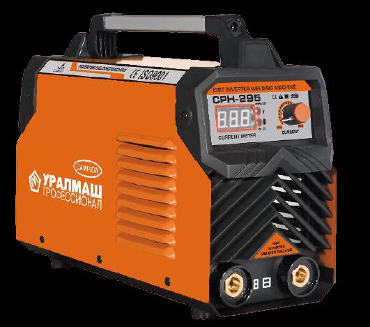 Aparat de sudura / invertor CPH 295Ah portocaliu, UralMash Campion, cablu sudura 3 metri [0]