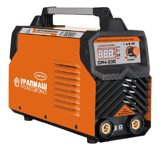 Aparat de sudura / invertor CPH 300Ah portocaliu, UralMash Campion, cablu sudura 3 metri [0]