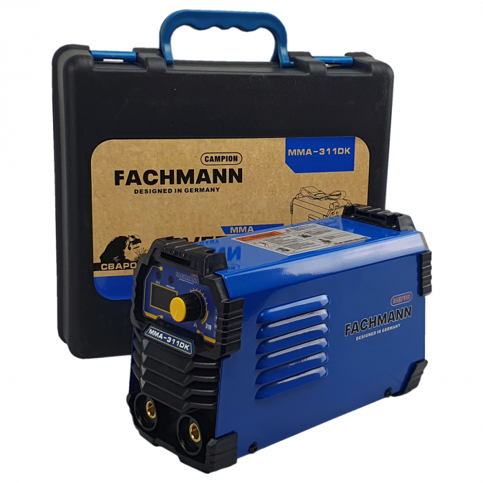 Aparat de sudura , invertor Fachmann 311DK , 310Ah, cablu sudura 3m, racire cooler (ventilator) 1.6mm-5.00 electrod [2]