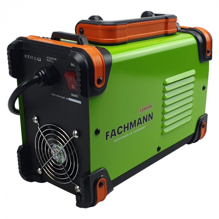 Aparat Invertor pentru sudura MMA 350DC verde FACHMANN Designed in Germany [3]