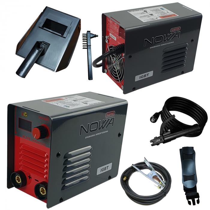 Aparat de sudura, invertor NOWA W355, 355 ah, cablu sudura 3m, + accesorii, Polonia [1]