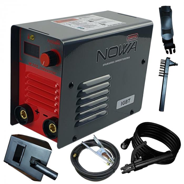 Aparat de sudura, invertor NOWA W355, 355 ah, cablu sudura 3m, + accesorii, Polonia [0]