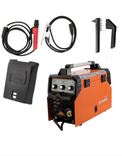 Invertor pentru sudura MIG MAG CPH 310Ah portocaliu UralMash by Campion,cablu sudura 3 metri [1]