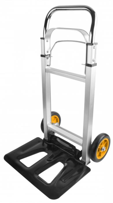 Liza,Carucior pliabil cu platforma, 90 kg, Aluminiu, Tolsen 62602 [0]