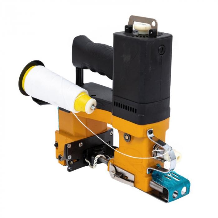 Masina electrica de cusut saci Micul Fermier, putere 210W, 800rpm, 1700-2000 imp/min, portocaliu/negru 2