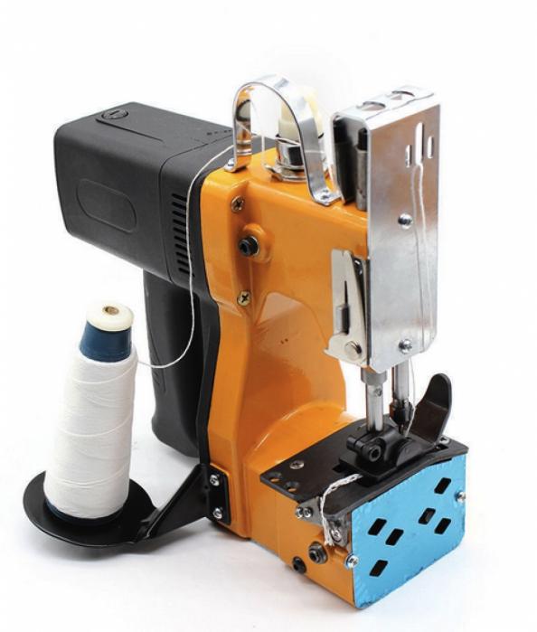 Masina electrica de cusut saci Micul Fermier, putere 210W, 800rpm, 1700-2000 imp/min, portocaliu/negru 0