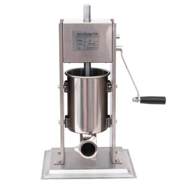 Masina de umplut carnati, verticala, capacitate 3 kg, INOX calitate superioara 1