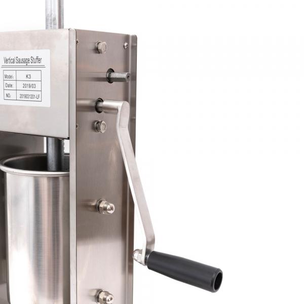Masina de umplut carnati, verticala, capacitate 3 kg, INOX calitate superioara 4