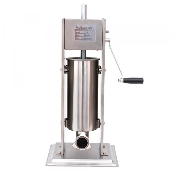 Masina de umplut carnati, verticala, capacitate 5 kg, INOX calitate superioara 1