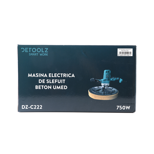 Masina electrica de slefuit beton umed DeToolz DZ-C222, 750W, 100Rpm [4]