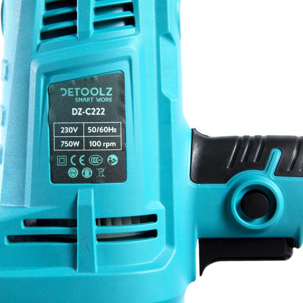 Masina electrica de slefuit beton umed DeToolz DZ-C222, 750W, 100Rpm [1]