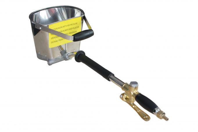 Masina de tencuit pneumatica Detoolz DZ-C202 [0]