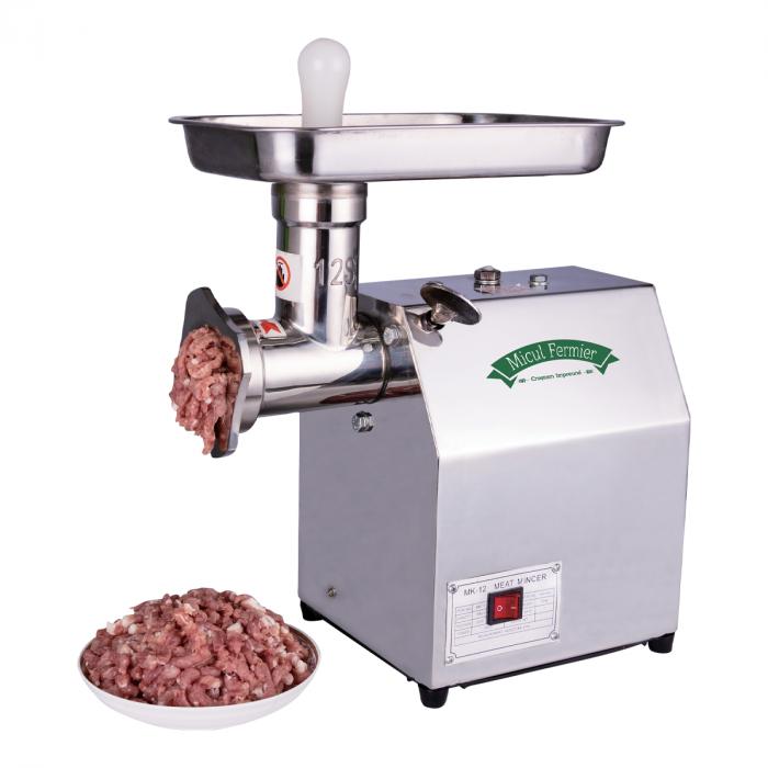 Masina electrica de tocat carne, Micul Fermier GF-2214, 350W, 60kg/h, INOX [0]