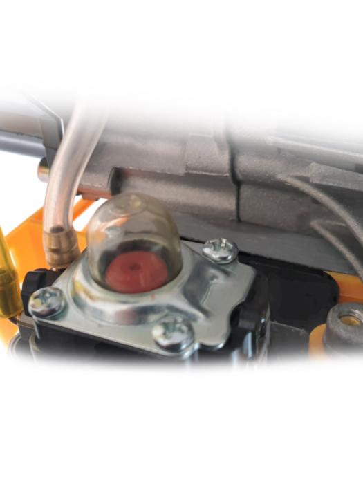 Motocoasa pe benzina Kratos MC4200, 5 CP, 10000 rpm, 52 cc, 8 accesorii [4]