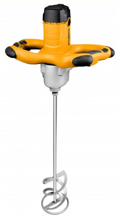 Mixer, amestecator electric mortar,ciment,vopsea 1800W, Tolsen 79509 Profesional [0]